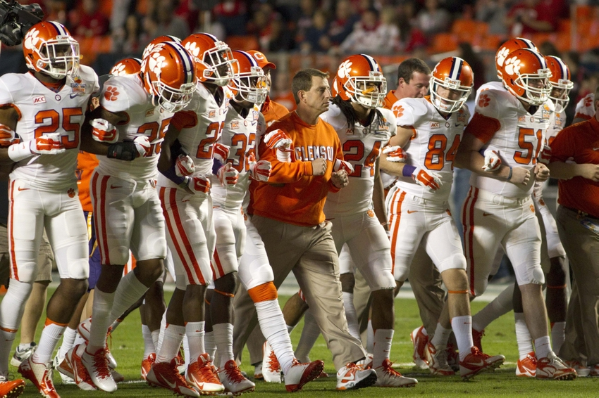 Clemson Football: Bavoda Gives Tigers 12/1 Odds to win the ACC