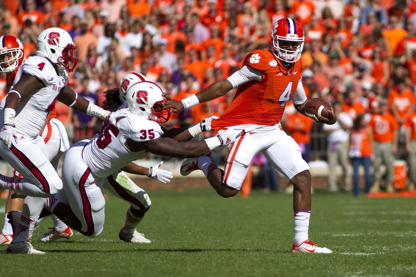 Clemson Football Photo Gallery From 41 0 Win Over Nc State