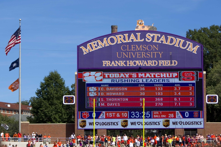 Clemson Football: Photo Gallery From 41-0 Win Over NC State North Carolina Football Score