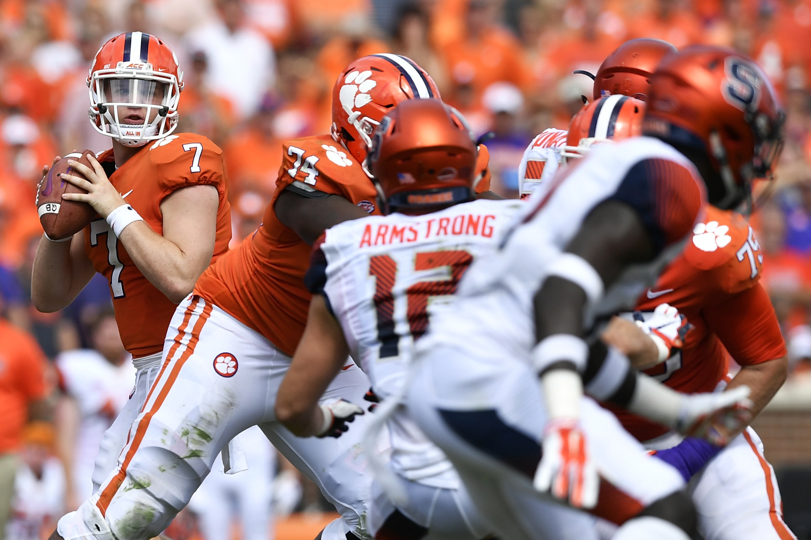 Clemson Football: Chase Brice grew up before our eyes vs. Syracuse