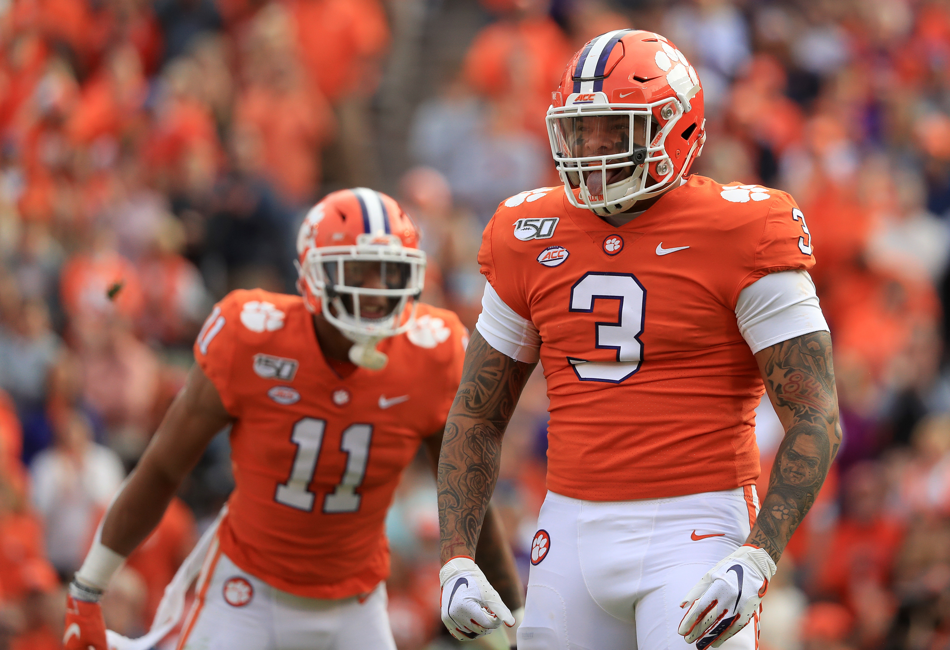 clemson forest wake football college isaiah simmons rankings studs draft depth power defensive line duds victory fulton kristian week university