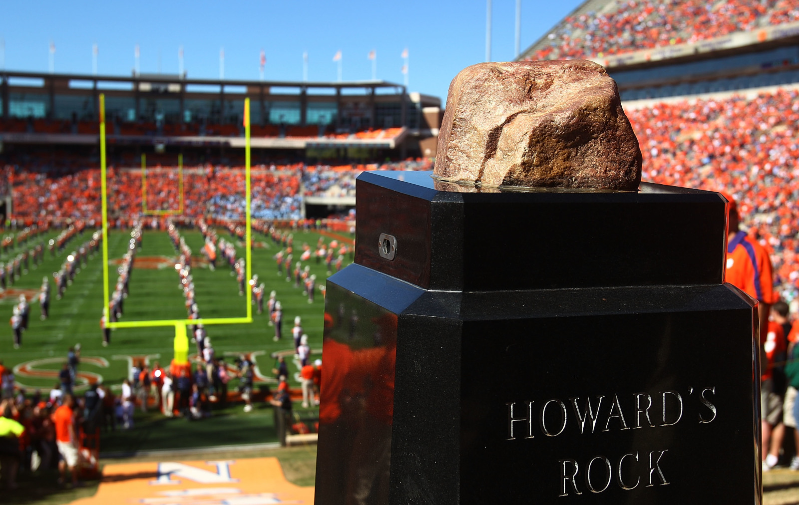 Clemson Football Howard S Rock Was Almost Thrown Away When clemson players rub that rock and run down the hill, its the most exciting 25 seconds in college football. https rubbingtherock com 2020 03 19 clemson football remember howards rock almost thrown