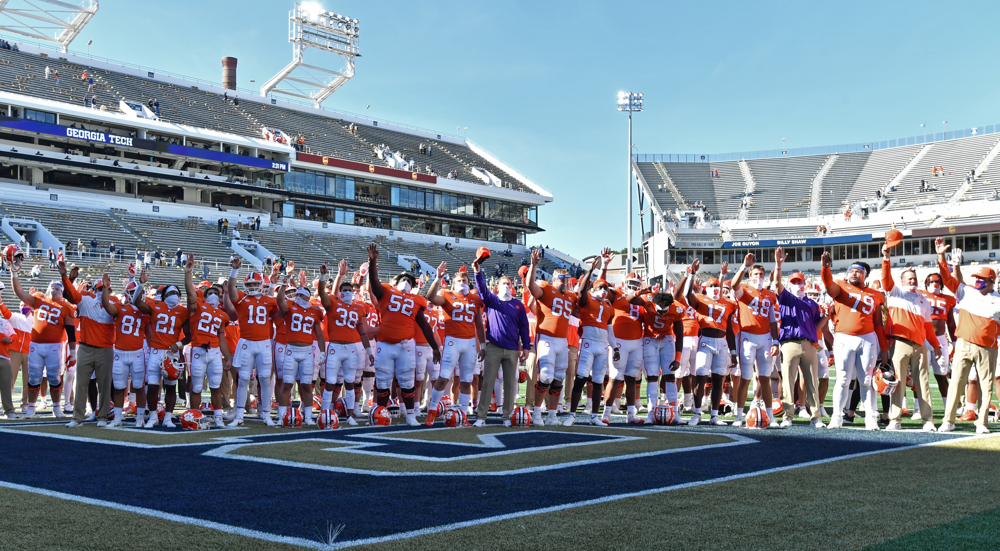 Clemson Football Tigers Aren T Looking For Approval From Other Fan Bases
