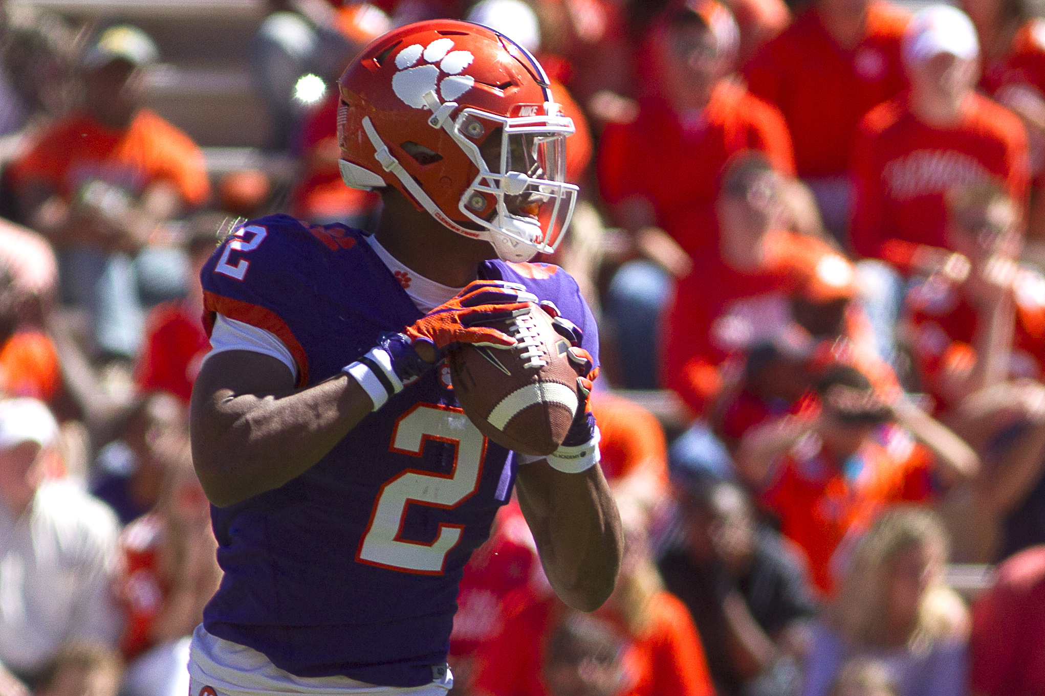 clemson football spring tigers bryant kelly quarterback game history quarterbacks today ncaa sports joshua usa sc season shows tough watson