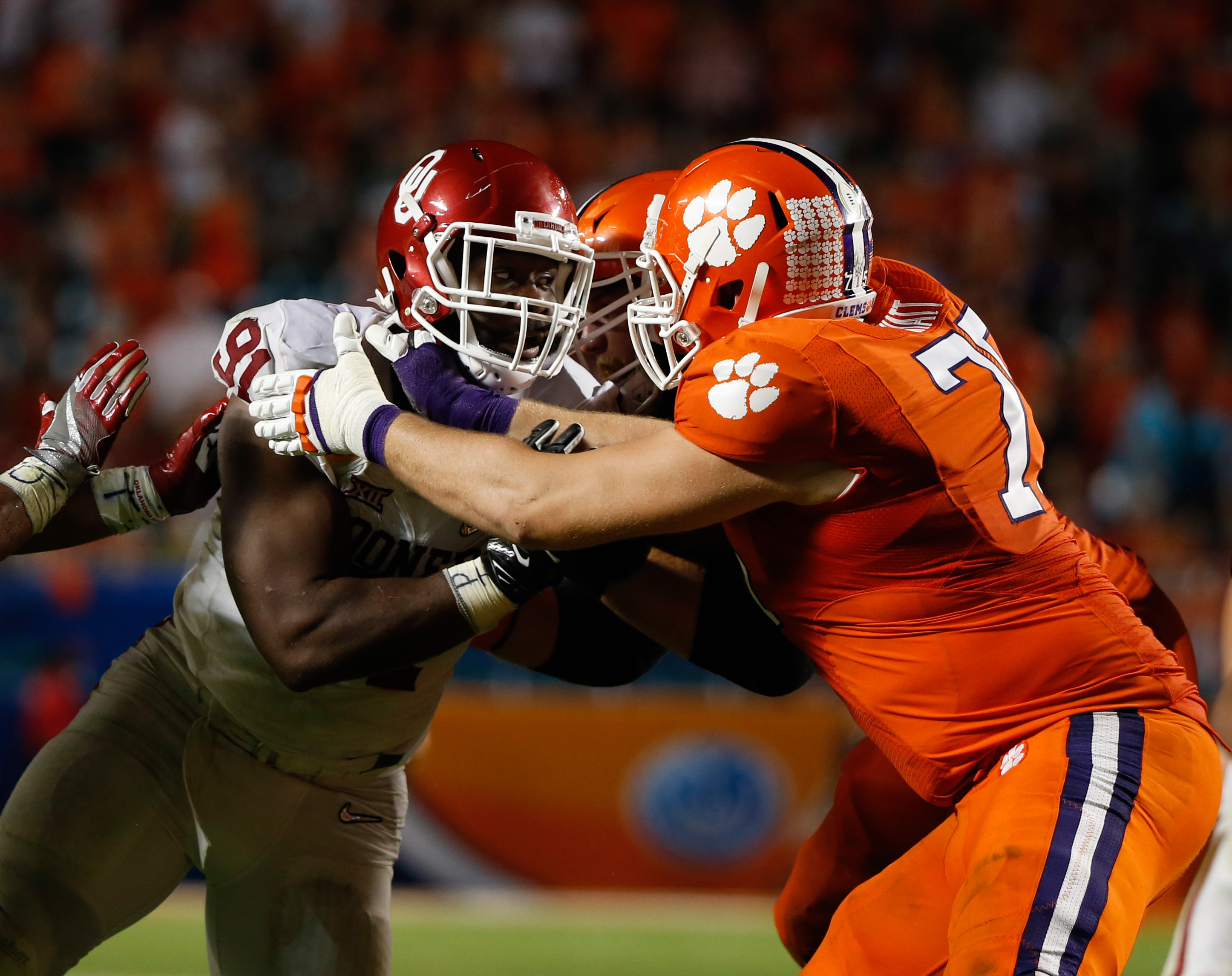 Clemson Football: Projected post-spring offensive depth ...